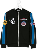 Dolce & Gabbana Motor Club zipped sweatshirt