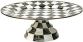Mackenzie Childs MacKenzie-Childs Large Courtly Check Pedestal Platter
