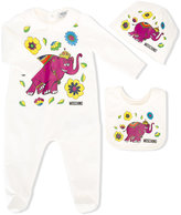 Moschino Kids elephant pyjama