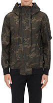 Nlst Men's Camouflage Hooded Flight Jacket