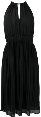 MICHAEL Michael Kors Pleated Midi-Dress