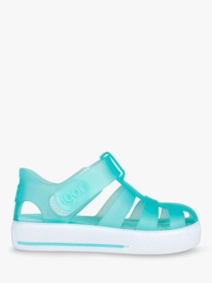 Igor Junior Star Jelly Riptape Sandals