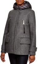 Moncler Euphemia Two-Piece Down Vest & Coat