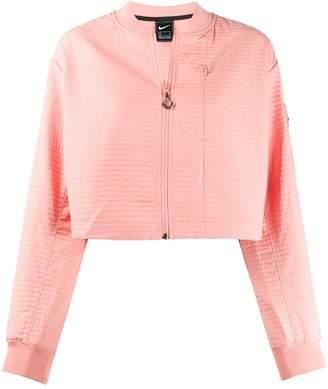 Nike cropped bomber jacket