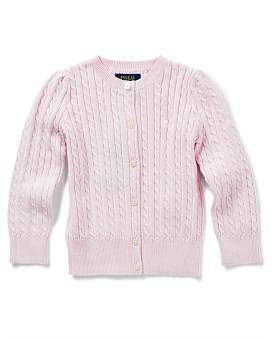 Polo Ralph Lauren Cable-Knit Cotton Cardigan (2-7 Years)