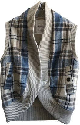 Chalayan Beige Wool Jackets