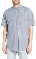 Zanerobe Rugger Oversize Microstripe Sport Shirt