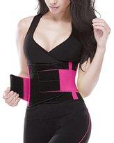 YIANNA Waist Trimmer Belt Fat Burner Low Waist Back support Adjustable Abdominal Trainer Body Hourglass Shaper Weight loss, CA-YA8002-M