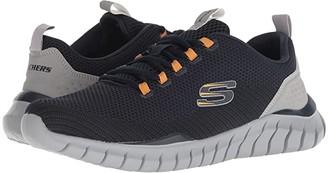 Skechers Overhaul Landhedge (Navy/Gray) Men's Lace up casual Shoes