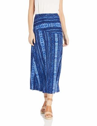 Tribal Women's Long Skirt with Back Detail