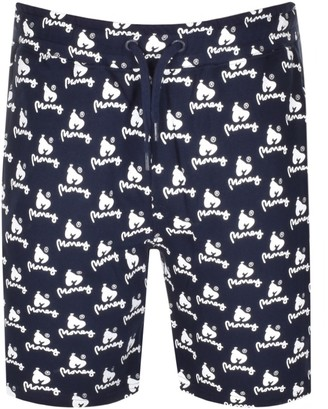 Money Clothing Money Logo Sweat Shorts Navy