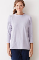 J. Jill Pure Jill Striped Mock-Neck Top