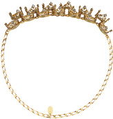 Erickson Beamon Ringtone Gold-plated Swarovski Crystal Headpiece - one size