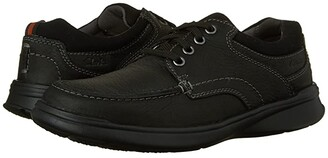 Clarks Cotrell Edge (Black Oily Leather) Men's Shoes