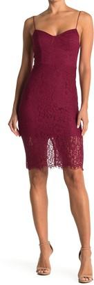 Lush Sweetheart Lace Sheath Dress