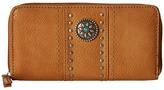 American West Rio Rancho Zip-Around Wallet Wallet Handbags
