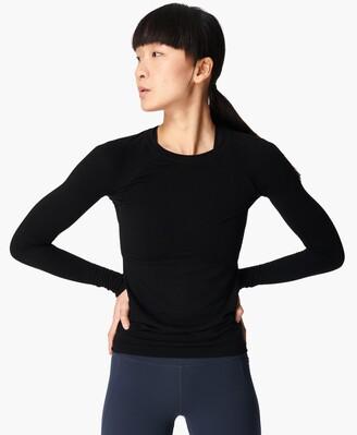 Sweaty Betty Glisten Bamboo Long Sleeve Workout Top