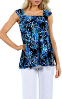 24/7 Comfort Apparel Sleeveless Tunic Top