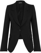Ann Demeulemeester Wool-twill Blazer - Black