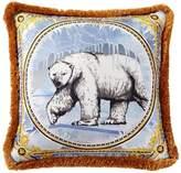 Versace Ben Polar Bear Printed Accent Pillow
