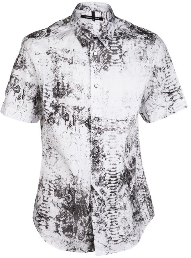 Sons Of Heroes Snakeskin print shirt