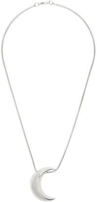 Sophie Buhai Silver Moon Pendant Necklace