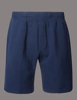 Autograph Cotton Rich Textured Shorts