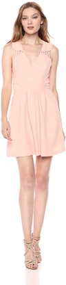 BCBGeneration Women's Strappy Cutout Dress