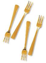 Glittering Cocktail Forks, Set of 4