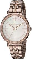 Michael Kors Women's 'Cinthia' Quartz Stainless Steel Casual Watch, Color: (Model: MK3737)