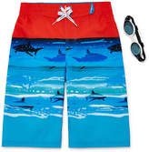 ZeroXposur Sea Wave Swim Trunks - Boys 8-20