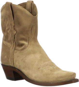 Lucchese Elana Short Suede Western Boots