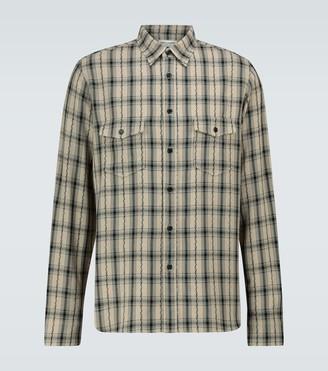 Saint Laurent Oversized long-sleeved shirt