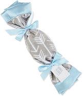 Swankie Blankie Arrow Plush Security Blanket, Blue/Slate