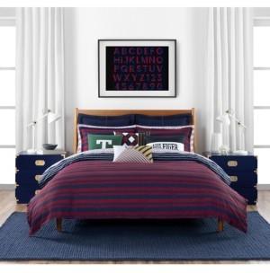 Tommy Hilfiger Heritage Stripe 3 Piece King Comforter Set Bedding
