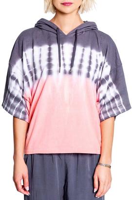 PJ Salvage Sunset Glow Tie Dye Hoodie