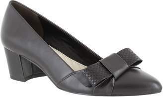 Easy Street Shoes Bow Detail Dress Pumps - Triana