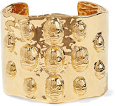 Aurelie Bidermann Concorde gold-plated cuff
