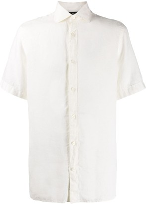 Ermenegildo Zegna Short-Sleeve Slim-Fit Shirt