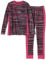 Cuddl Duds Girls 4-16 Fleece Long-Sleeved Tee & Leggings Set