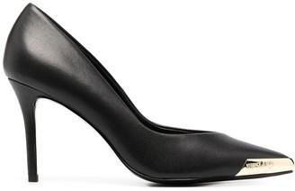 Versace Jeans Couture Pointed Toe Cap Detail Pumps