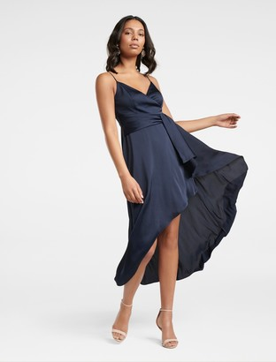 Ever New Tana Petite Drape Maxi Dress