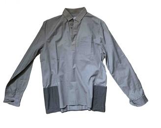 Valentino Khaki Cotton Shirts