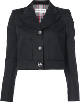 Sonia Rykiel buttoned cropped jacket