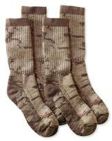 L.L. Bean Wool Cresta Hiking Socks, Midweight Print 2-Pack