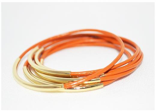 Athleta Leather Bangles by Leather Wraps Llc