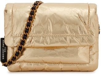 Marc Jacobs The Mini Pillow gold cross-body bag