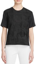 DKNY Pure Embroidered Front Shirt