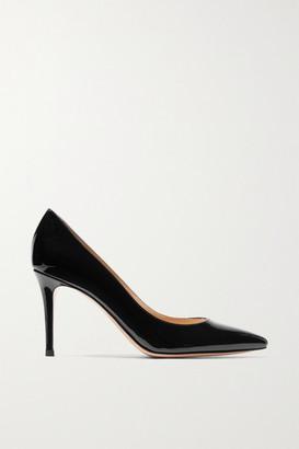 Gianvito Rossi 85 Patent-leather Pumps - Black