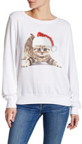 Wildfox Couture Meowy Christmas Pullover